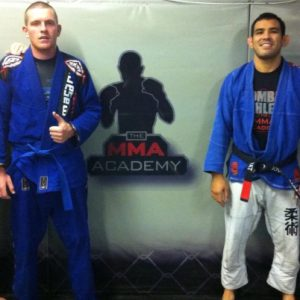 Mark Kinsella BJJ Blue Belt