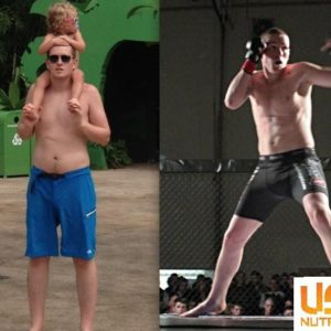 Kinny MMA transformation