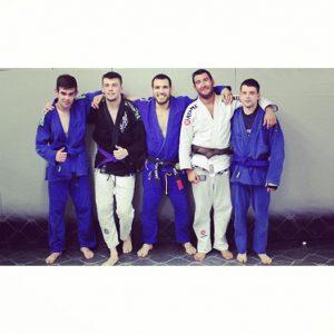left to right: Liam Donoghue, Josh Palombella, Jason Tan, Ant Jones, Ryan Matthews