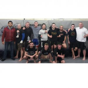 After a great sparring session